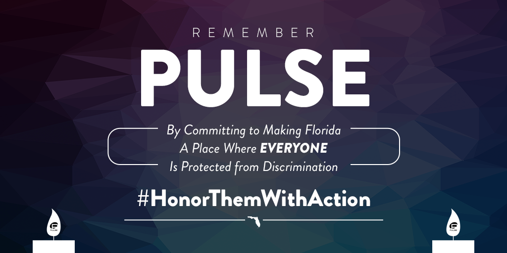 On The Two-Year Anniversary of The Pulse Nightclub Shooting, Florida  Competes Commits to #HonorThemWithAction | Florida Competes